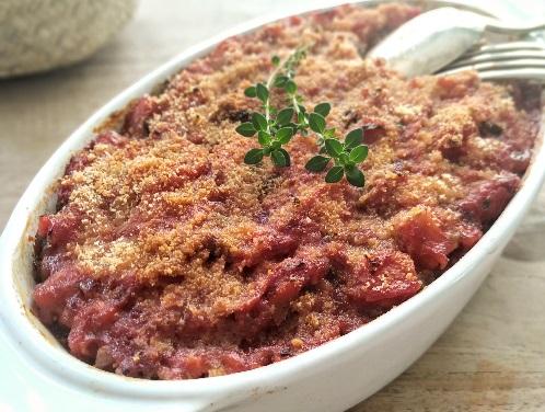 lasagnes vegetarienne aux legumes du soleil livraison entreprises domicile