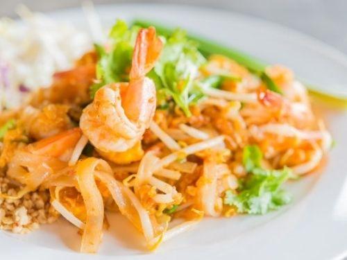 Pad thai aux crevettes les beuqueries livraison domicile entreprise