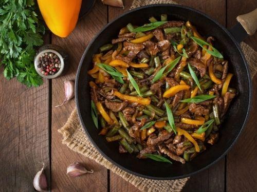 sauté de boeuf thaï et petits légumes les beuqueries livraison domicile entreprise